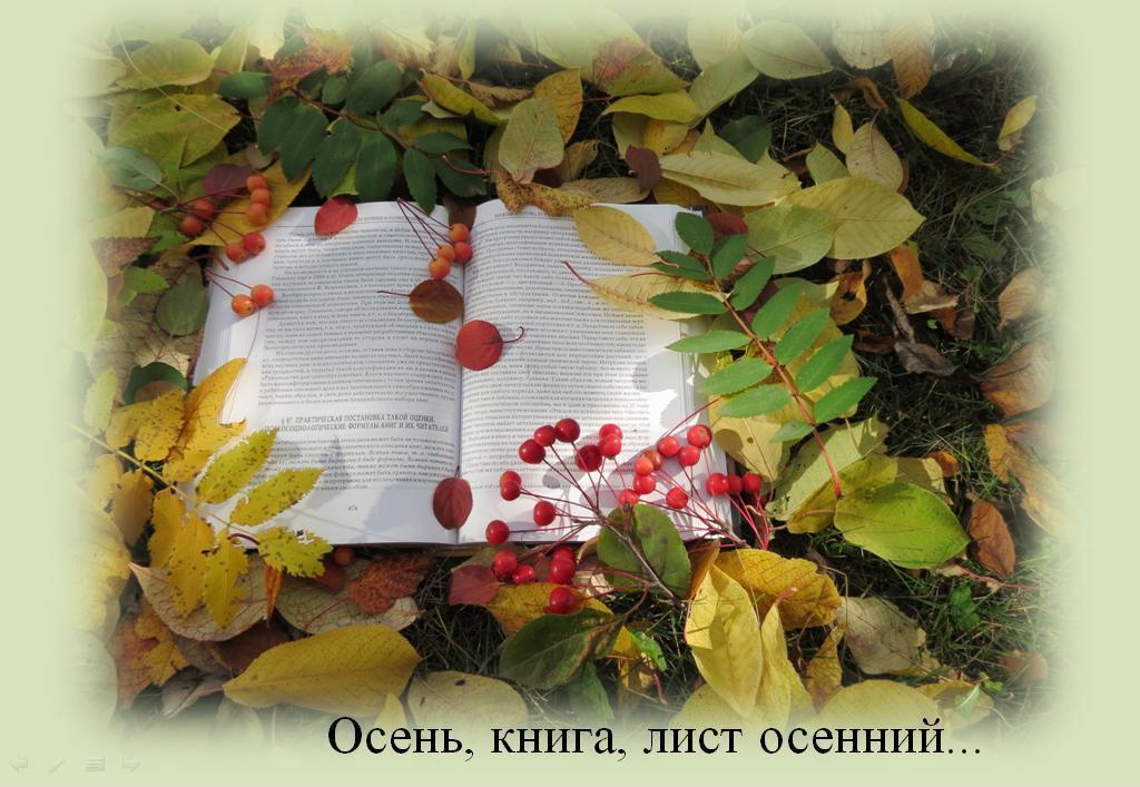 Осенний книжный вальс